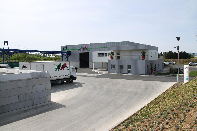 Groupe Eurec, Béziers et Lyon, pneus usagés